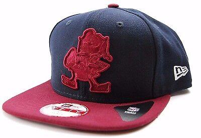 Cleveland Browns New Era 9Fifty NFL Team Logo Flat Bill Snap Back Cap -