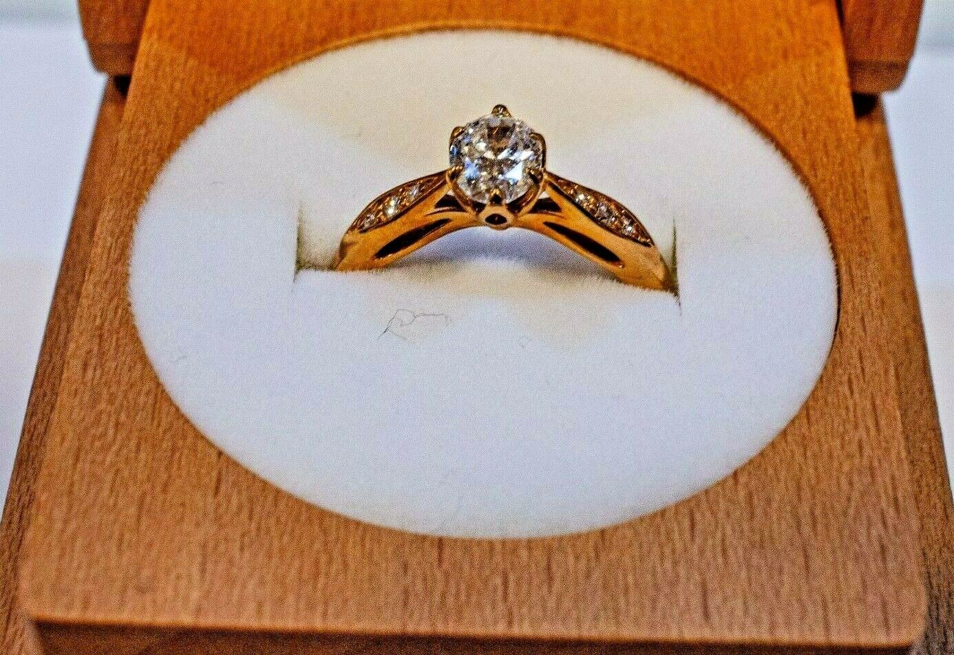 Brilliant Earth's Peony Engagement Diamond Ring (Size 5, 14k Rose Gold, .054ct) 5