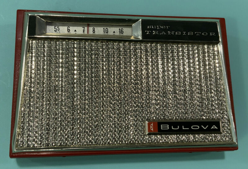 Bulova watch company 890 series pocket transistor super transistor Working