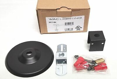 WAC Sk11-BK All Track System and Lighting Single Circuit Suspension Kit -
