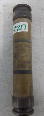 General Electric 60a Fuse Gf6b60 Lot Of 5