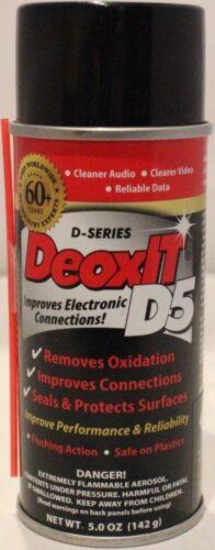 Caig DeoxIT® D5S 60th Anniv Can 142g 5% solution spray w/LMH valve - Free Ship