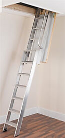 Ramsay Loft Ladder size AL3 sliding heavy duty