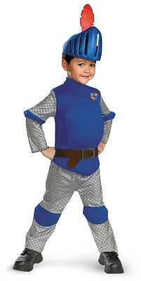 Child Toddler TV Show Nick Jr Mike the Knight Deluxe Medieval Warrior - Mike The Knight Costume