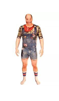 NEW HALLOWEEN Morphfauxreal Costume Hillbilly Redneck Pequenaud Morphsuit Medium - Hillbilly Halloween Costume