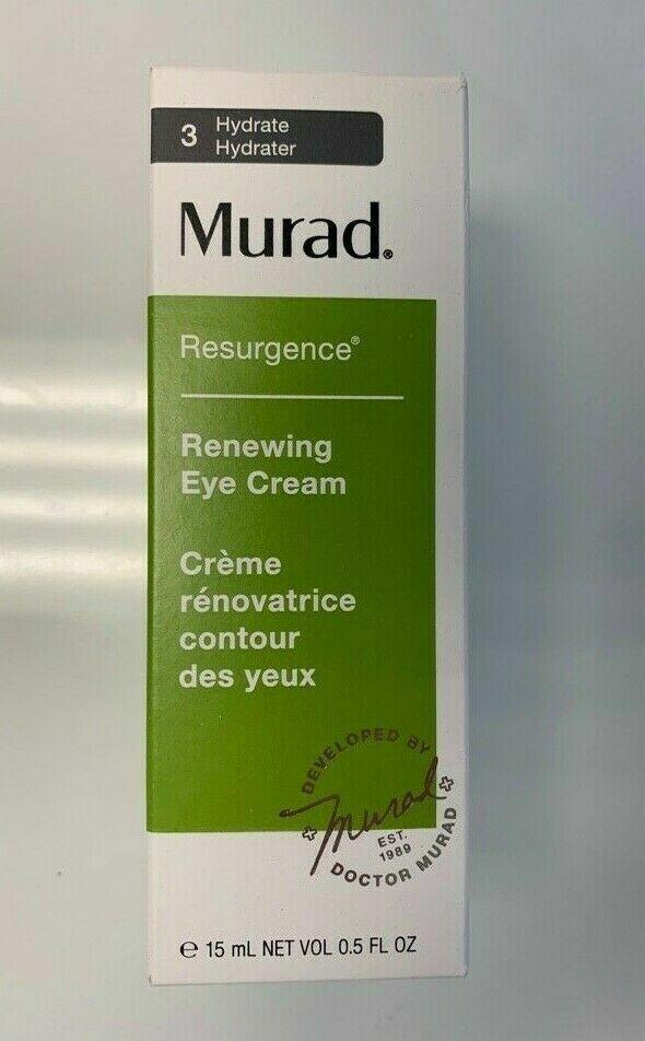 MURAD Renewing Eye Cream Resurgence Full Size 0.5oz 15 ml NE