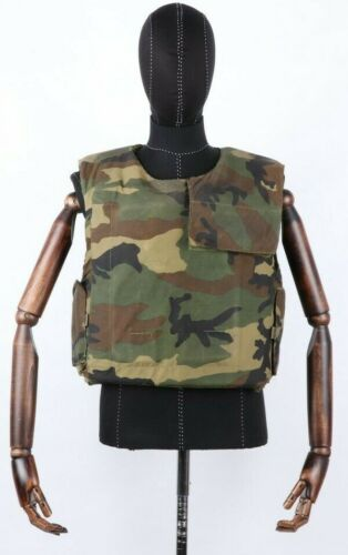 Woodland Vest-Body Armor Gendermerie MD IIIA