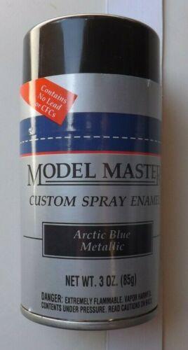 "Testors Model Master 2902 ""ARTIC BLUE METALLIC"" 3 oz. AUTO ENAMEL PAINT OOP/HTF"