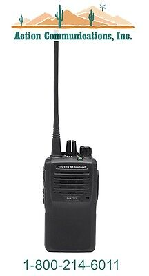 New Vertexstandard Evx-261 Uhf 403-470 Mhz 5 Watt 16 Channel Two Way Radio
