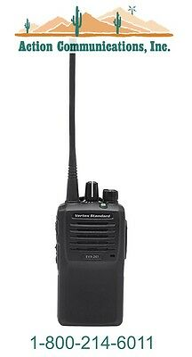 New Vertexstandard Evx-261 Vhf 136-174 Mhz 5 Watt 16 Channel Two Way Radio