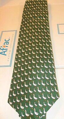 Vineyard Vines Aflac Duck Neck Tie Silk     Brand New