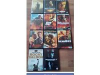 Selection of action DVDs