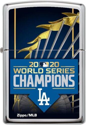 ZIPPO 2020 Los Angeles Dodgers World Series Champions High Polish Chrome **NEW**