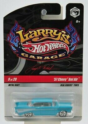 "Hot Wheels 2008 Larry's Garage '57 Chevy Bel Air ""NIP"" 9 of 20"
