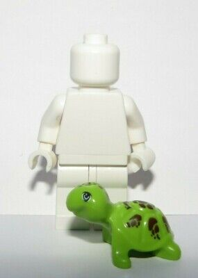 Lego 1 X Lime Green Turtle Tortoise   Minifigure Not Included Animal Pet Farm