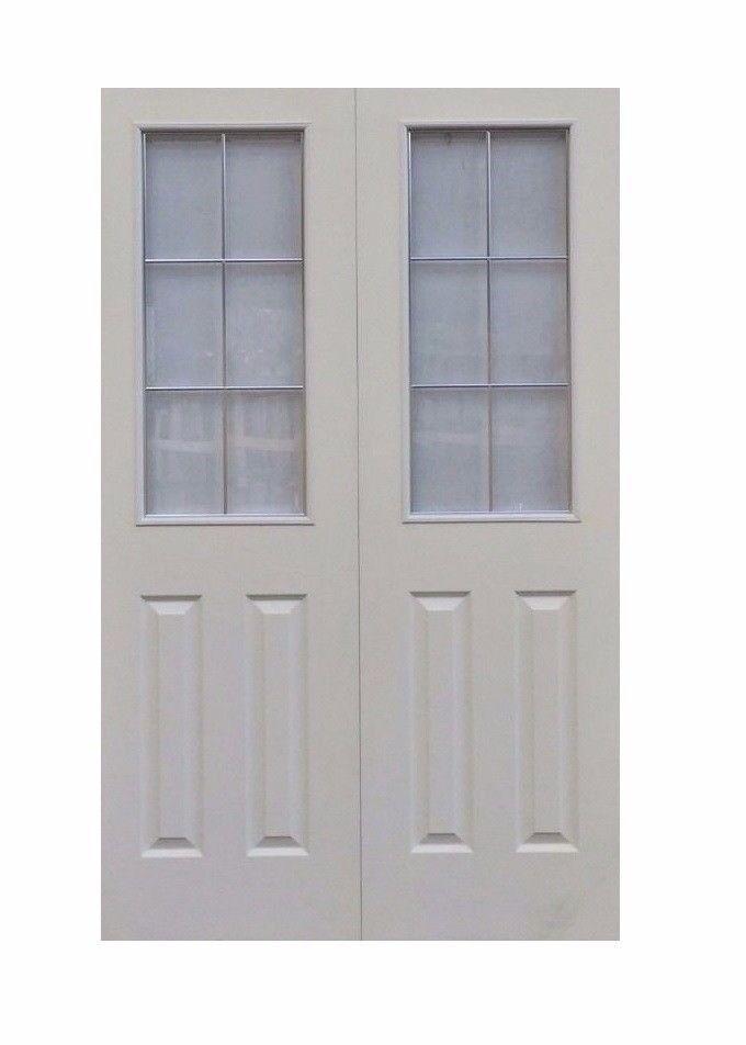 Internal Glazed Doors- Chrome Beading