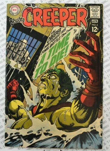 Beware the Creeper #6 (1969) Fine (6.0) ~ Gil Kane Cover ~ DC Comics