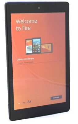 Amazon Kindle Fire w/Alexa HD8 7th Gen 16GB - Black  10-7B