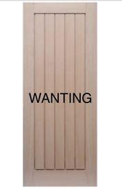 WANTING OAK DOORS