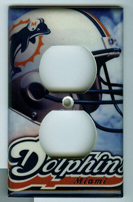 Miami Dolphins Outlet Cover NFL NEW Single Two Plug