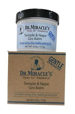 Dr. Miracles Temple & Nape Gro Balm Gentle Strength 113g - Nape Gro Balm