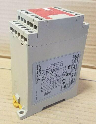 OMRON  #G9SA-301  SAFETY RELAY UNIT  K116