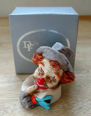 vintage 1986 Artefice Ottanta CLOWN figurine Made in Italy