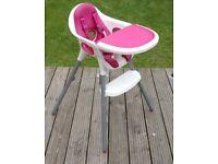 Mamas & papas high chair 2 in 1