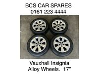 Vauxhall insignia Alloy wheels. Full set. Or single. Replacement ask