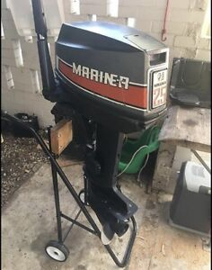 25HP Mariner outboard motor Banyo Brisbane North East Preview