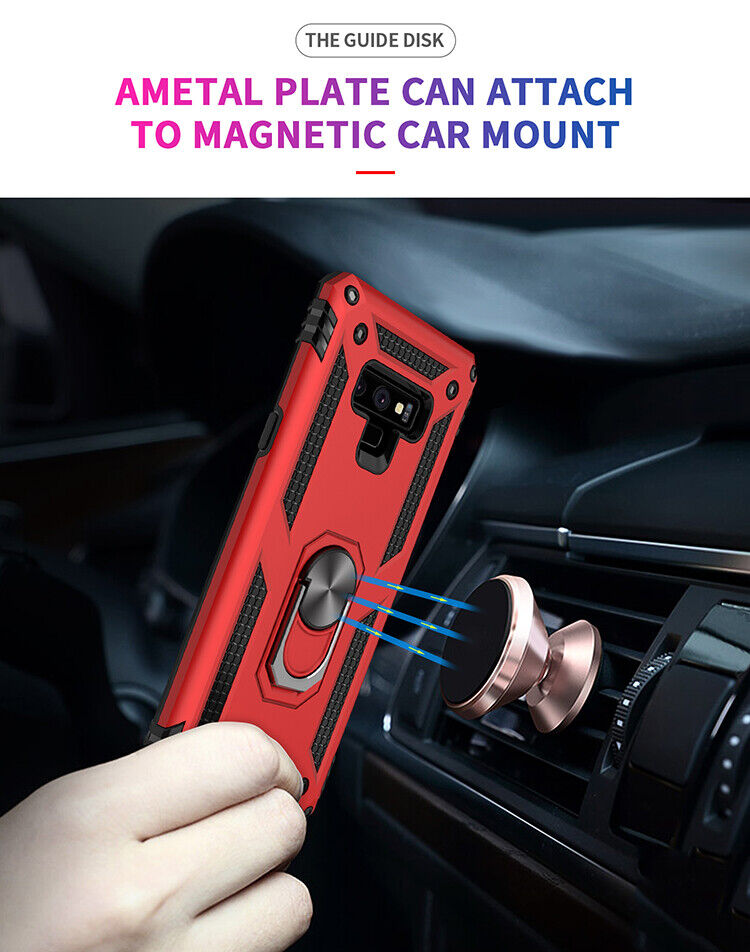 For Samsung Galaxy Note 9/ Note 8 Magnetic Ring Holder Milit