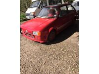 1985 mk2 Ford Fiesta not mk1 xr2 rs turbo classic ford