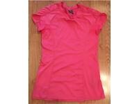 Sansara Pink Yoga Work Out Top Size Small