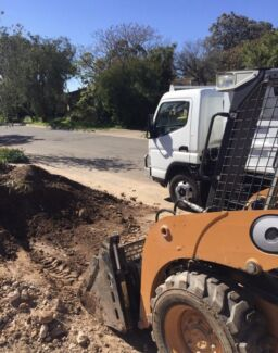 Excavator, bobcat and tipper combo hire