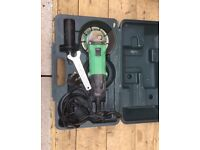HITACHI ELECTRIC 230VOLTS 580w ANGLE GRINDER