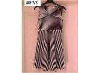 Mini B dress age 7-8