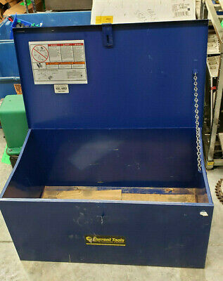 Current Tools 103115ct 281 Bending Table Empty Storage Box. Buyer Pickup Only