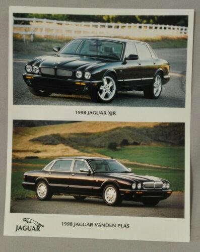 Jaguar 1998 Factory photo print  Vanden Plas & XJR