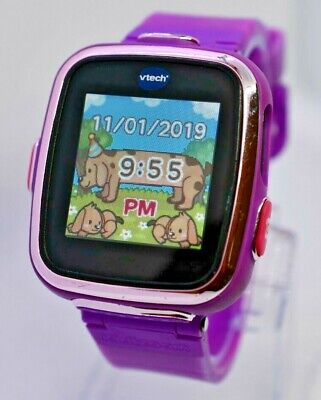 VTech Kidizoom Smartwatch, Purple - VT5354 1716 - Tested & Works (Watch Only) B