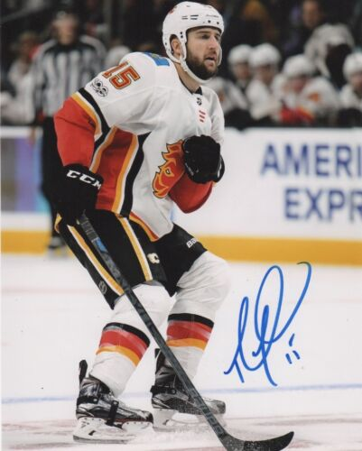 Calgary Flames Tanner Glass Autographed Signed 8x10 NHL Photo COA C