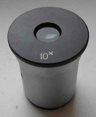 10x Eyepiece With Double Frames Microscope Zeiss Lomo D232 Mm