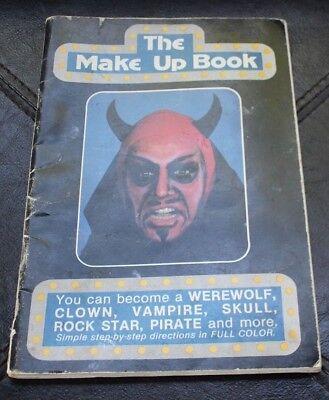 The Make Up Book Halloween Makeup Easy How-To Handbook Theatrical 1981 Vintage - Make Halloween Makeup