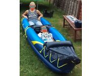 2 Person Inflatable Canoe, kayak