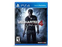 Swap - Uncharted 4 & No Mans Sky PS4