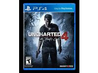 Brand new Unopened Uncharted 4 PS4 game