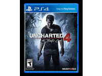 ps4 uncharted 4 new unopened £20