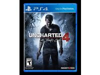 Uncharted 4 - PS4 (Great condition and superb game)