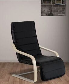 Occasional Lounge Bedroom Chair/ adjustable footrest
