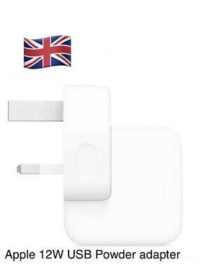 Genuine official 12W USB Fast Main Charger PLUG for iPad, iPhone Adapter