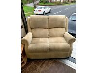 2 Seat Cream Sofa Free to Collect